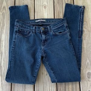 J Brand The Deal Ankle Zip Jeans
